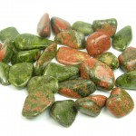 Tumbled Unakite